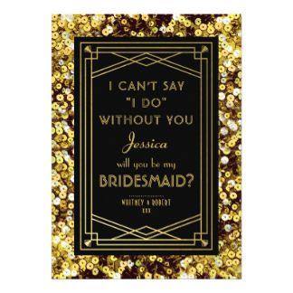 DIY Invitation Wedding Shower Invitation Custom Printed Bridal Shower Invitation Printable Digital Download Fitzgerald Art Deco