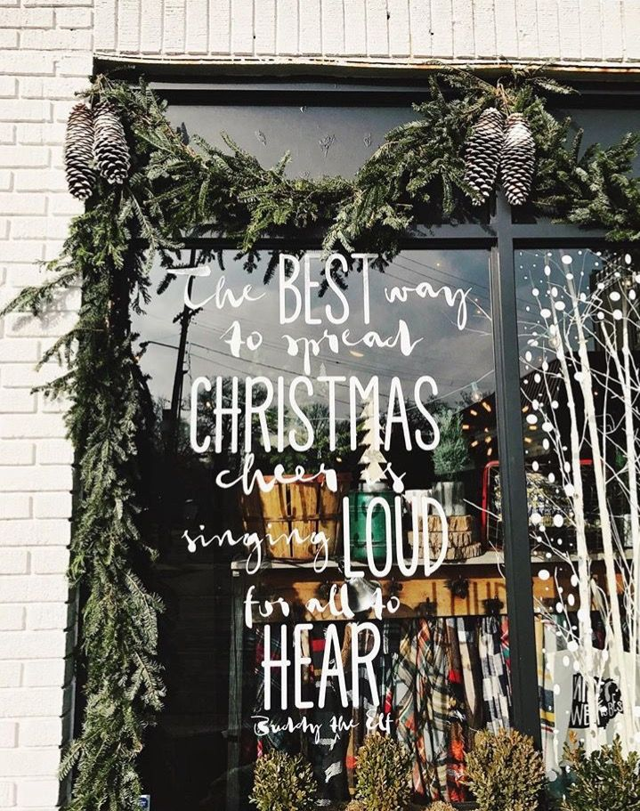 The best way to spread Christmas cheer is to sing loud for all to hear.