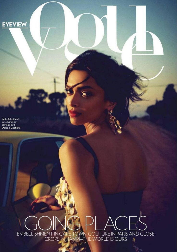 A Very Sweet Blog: Vogue India: Deepika Padukone is Going Places