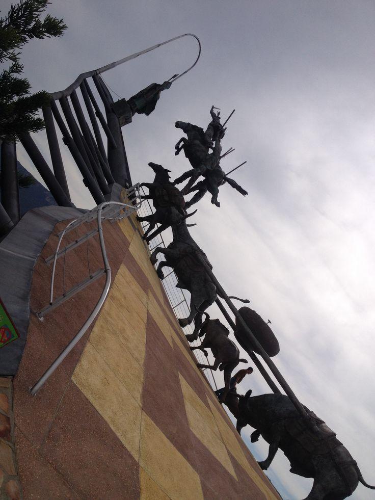 Comuneros Monument! #Santander #Chicamocha #Colombia