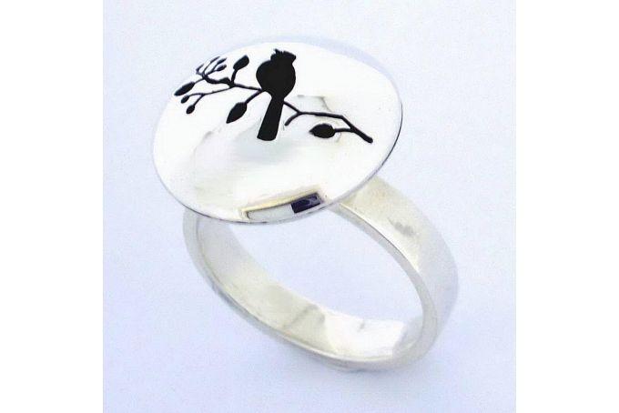 Hollow bird Ring by Fraai Juweliersware