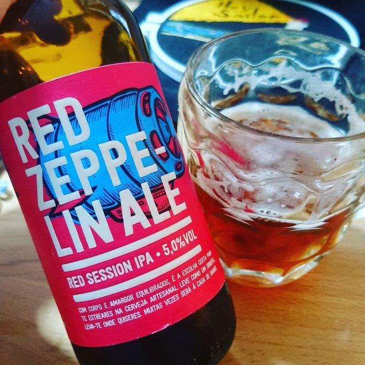 Red Zeppelin Ale from Musa is a dark honey coloured #CraftBeer. Malty and fruity aroma. Beautifully hoppy with a floral astringent bitter. Tea and lemon with a hint of lime and some tropical fruits. A great choice for my first beer of 2018!