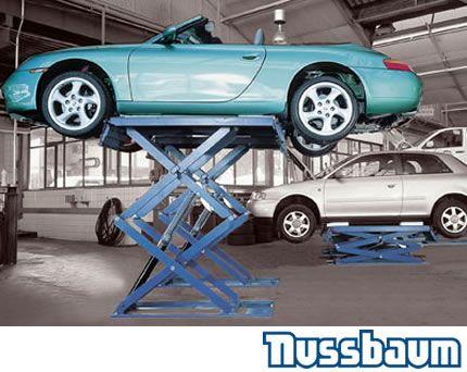 Nuusbaum Jumbo NT Double Automotive Scissor Lifts