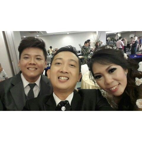 MCing wedding Tony & Nela at Grand Pasific Hotel #Bandung  #teguhmc #mcwedding #weddingmc #wo #wobandung #weddingorganizer #classicmgt #l4l #f4f #weddingplanner #weddinghost #host #wedding