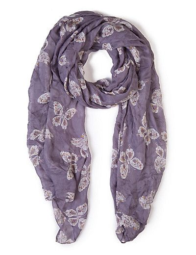 Lilac scarf DYT T2 UK