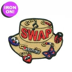 Swap Hat Fun Patch! Only $.69! Check out PatchFun.com for more.