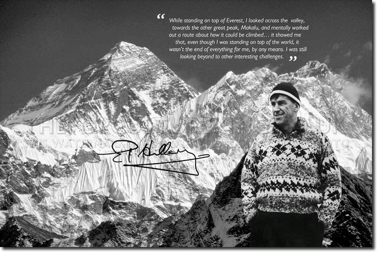 edmund hillary quotes - Google Search