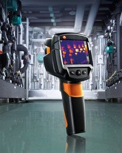 Nouveaux produits bâtiment : TESTO 869 La nouvelle caméra thermique pour tous les professionnels du bâtiment !