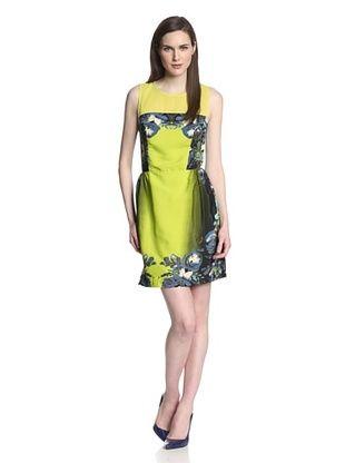 74% OFF W118 by Walter Baker Women's Bert Printed Sleeveless Dress (Neon Light)