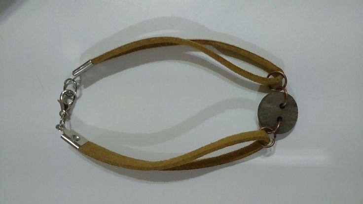 #leather bracelet