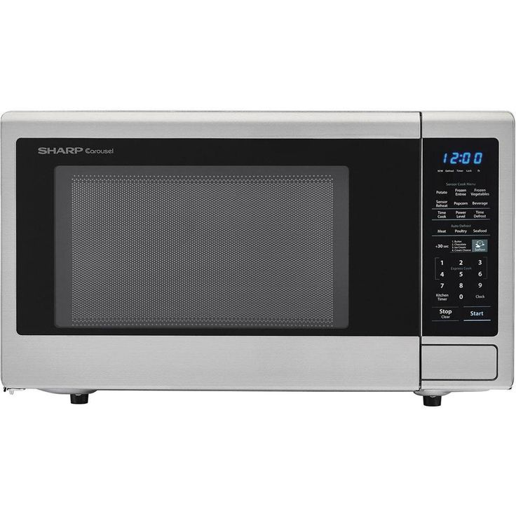 Ge Profile 1 1 Cu Ft 800 Watt Countertop Microwave Stainless