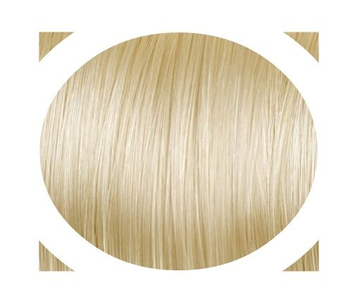 """Indisches Remy Haar - Italienisches Keratin   """"Premium Haar"""" Angen's Extensions mit keratin Technische Daten: Haar-Qualität: 100% Echthaar   Anzahl : 20 Strähnen Gesamtgewicht: 20g Haarlänge: ca. 55/60cm Haarstruktur: Glatt Farbe: Äußersthellblond #20 Hitzeresistent: Ja (Normales stylen mit Föhn, Glätteeisen, Lockenstab etc. möglich) Durchschnittliche Haltbarkeit: ETWA 6 Monate"""