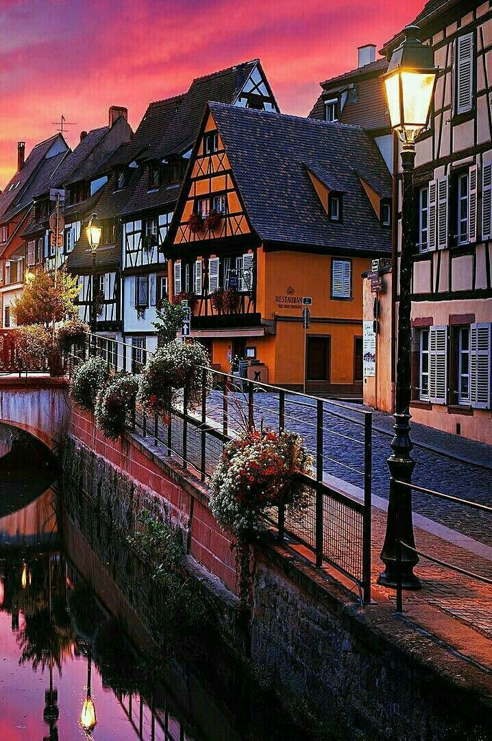 Colmar Alsace France With Images Alsace France Beautiful Places France Travel