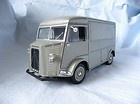 French Citroen 1962 HY 28 vitre armored carriage-style truck diecast alloy model