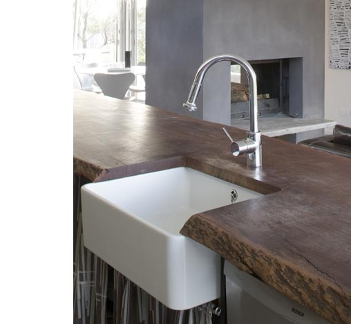 Beautiful Timber Bench With Sunken Kitchen Sink | Dream Home | Pinterest |  Sinks, Bench And Kitchens