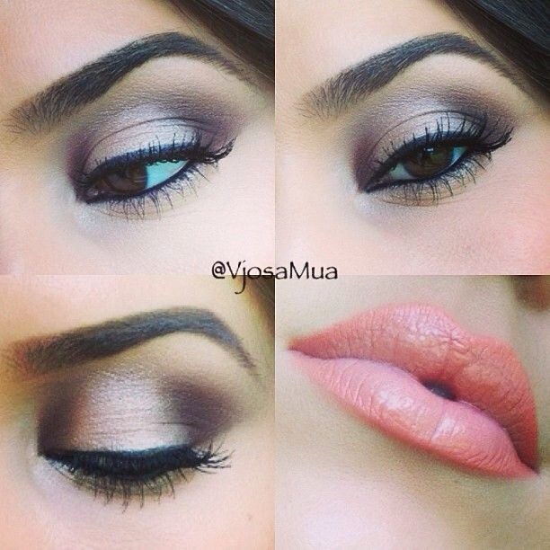 Love this! Makeup for brown eyes