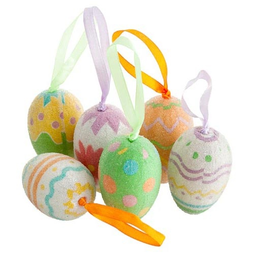 Hanging Eggs 6 Pack | Poundland 2013. Check out our 2014 Easter range #poundlandeaster