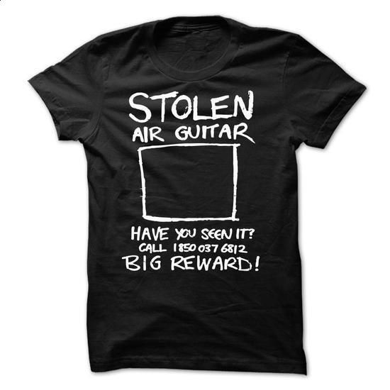 Stolen Air Guitar - #funny tshirts #linen shirts. ORDER HERE => https://www.sunfrog.com/Funny/Stolen-Air-Guitar.html?60505