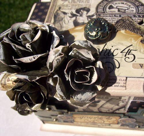 G 45 Metal Flowers Tutorial