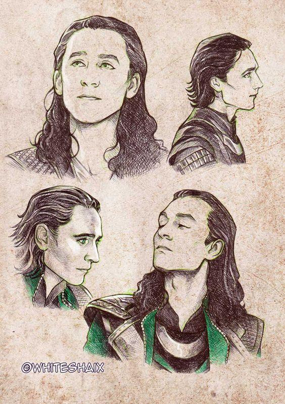 Great Loki sketches on Deviantart: