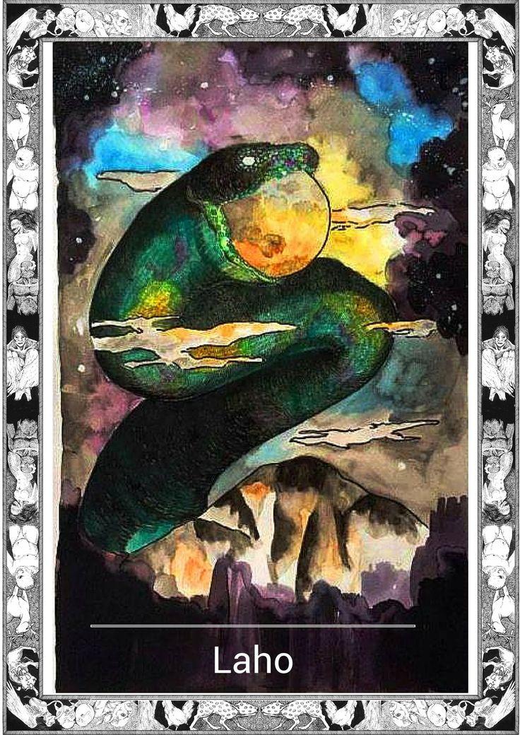 LAHO, Serpent of the Blood Moon | Philippine Mythology
