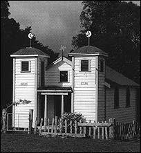Ratana church, Mangamuka, Northland, New Zealand