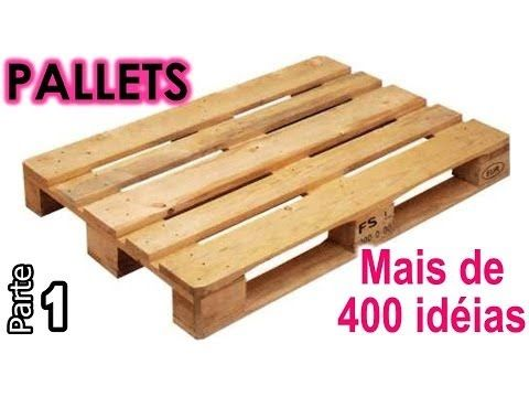 Mais de 400 idéias do uso de PALLETS - Parte 1 | Maio #17 - YouTube