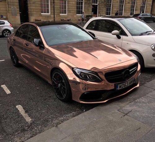 Rose Gold Audi