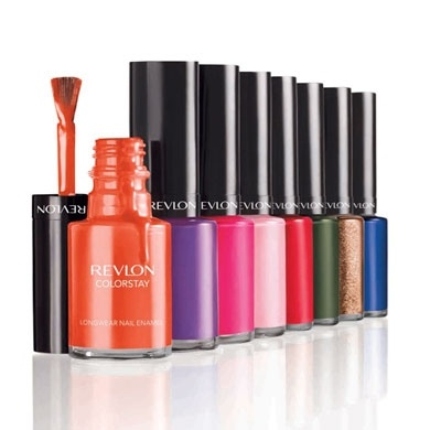 Revlon ColorStay Nail Enamel - When done with it's designated base coat and clear coat, it lasts for a week w/o chips.