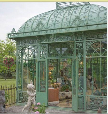 Huis serre balkon veranda tuinkamer kas oranjerie porch conservatory balcony greenhouse oase - Balkon veranda ...