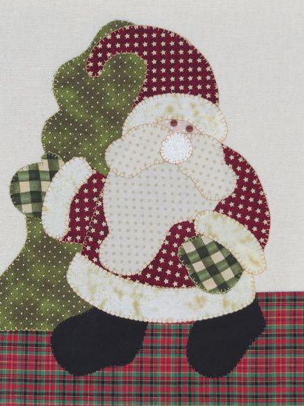 Pano de copa algodão colorido.  Patch aplique de Papai Noel.  Bordado em ponto caseado.  Barra e aplicação em tecido 100% algodão.  Sob encomenda, as estampas podem sofrer alterações, mantendo as tonalidades.