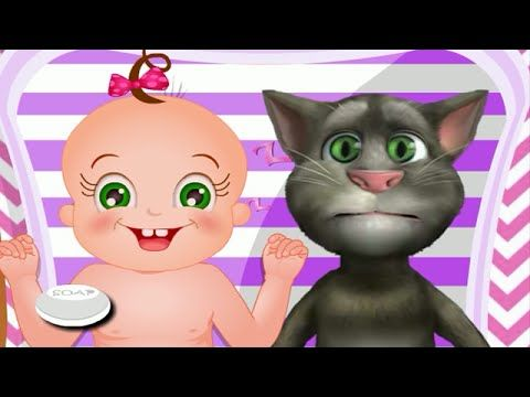 Talking Tom Cat Baby Care - My Talking Tom Cat Game Movie - http://www.gigglefinger.com/talking-tom-cat-baby-care-my-talking-tom-cat-game-movie/