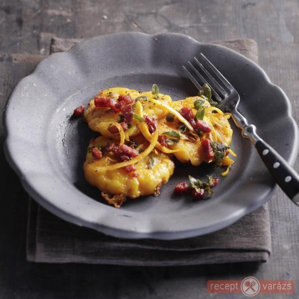 Sütőtökös gnocchi oregánós vajjal - Felséges fogás szinte hétköznapi hozzávalókból nem csak ínyenceknek! http://receptvarazs.hu/receptek/recept/sutotokos_gnocchi_oreganos_vajjal_recept