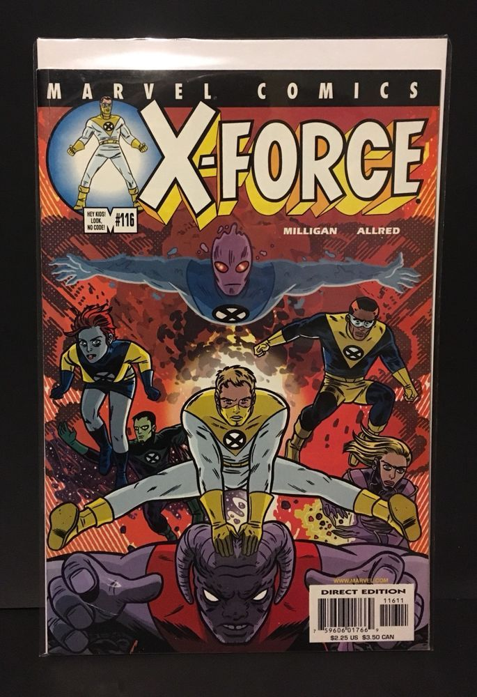 X Force 116 1st Appearance X Statix Doop U Go Zeitgeist Marvel Comics 2001 Vf Nm Ebay Comics Marvel Comics Marvel X