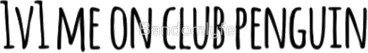1v1 me on club penguin