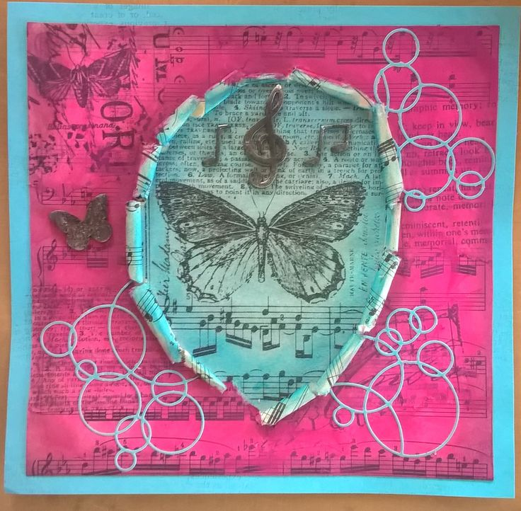Mixed media for JCC challenge - http://jehkotarcraftchallenge.blogspot.fi/2016/05/jehkotar-craftchallenge-7.html