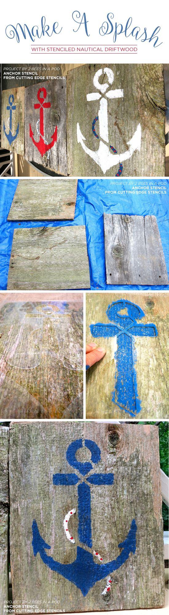 Besides cross clip art wall decor decorative wood cross decorative - Cutting Edge Stencils Shares Easy Diy Driftwood And Reclaimed Wood Art Ideas Using Beach Decor Stencils