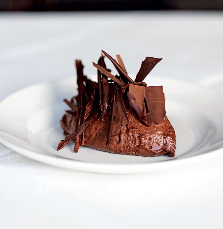 Chocolate mousse recipe from Hix Oyster & Chop House by Mark Hix | Cooked