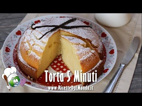 La torta 5 minuti è un dolce semplice, soffice e veloce da preparare per merenda o colazione, anche improvvisando. Ricetta per una torta molto rapida da fare.