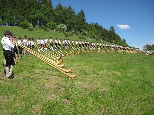 Allgäu, Alphorn, Alphorn Wind Meeting