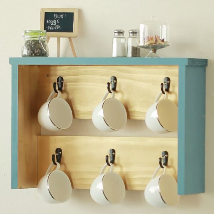 Best 25 coffee stations ideas on pinterest coffe bar for Coffee rack diy
