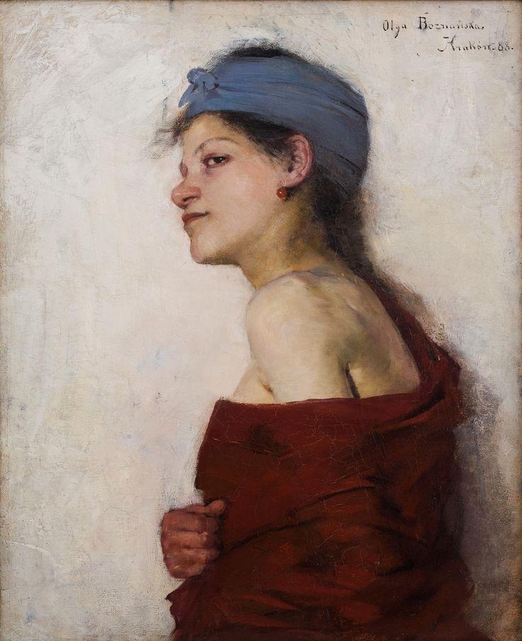 Portrait of a woman (Gypsy) by Olga Boznańska, 1888 (PD-art/70), Muzeum Narodowe w Krakowie (MNK)