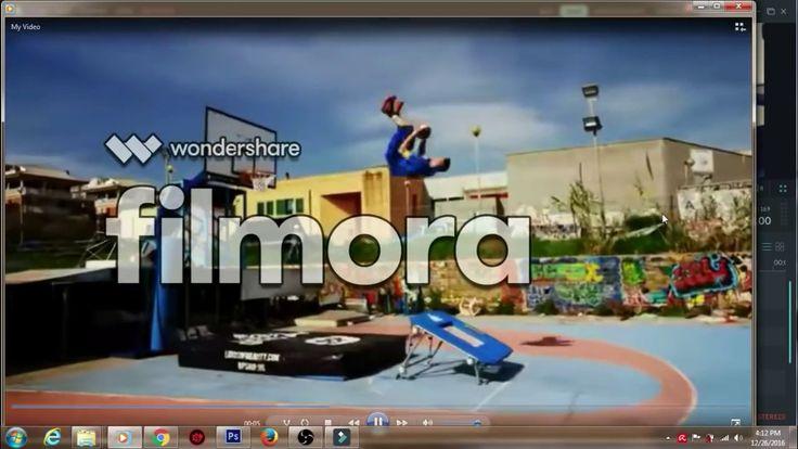 كيفية تحميل تفعيل افضل برنامج للتعديل على الفيديو2017   Filmora Lisenced...