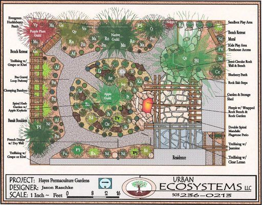 Designs homesteading permaculture pinterest for Permaculture garden designs