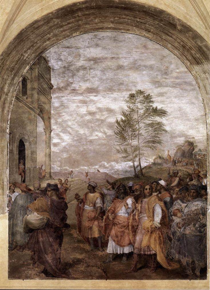 ANDREA DEL SARTO  Journey of the Magi  1511 Fresco, 360 x 305 cm  Santissima Annunziata, Florence