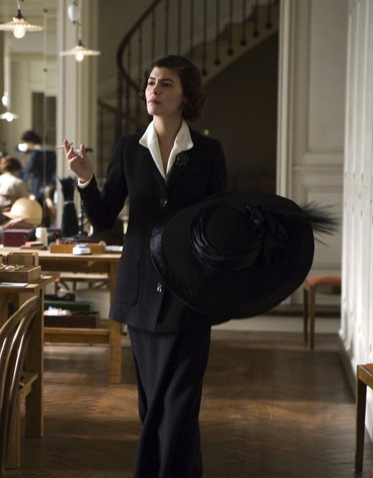 """Audrey Tautou as Gabrielle """"Coco"""" Chanel in Coco avant Chanel (2009)."""