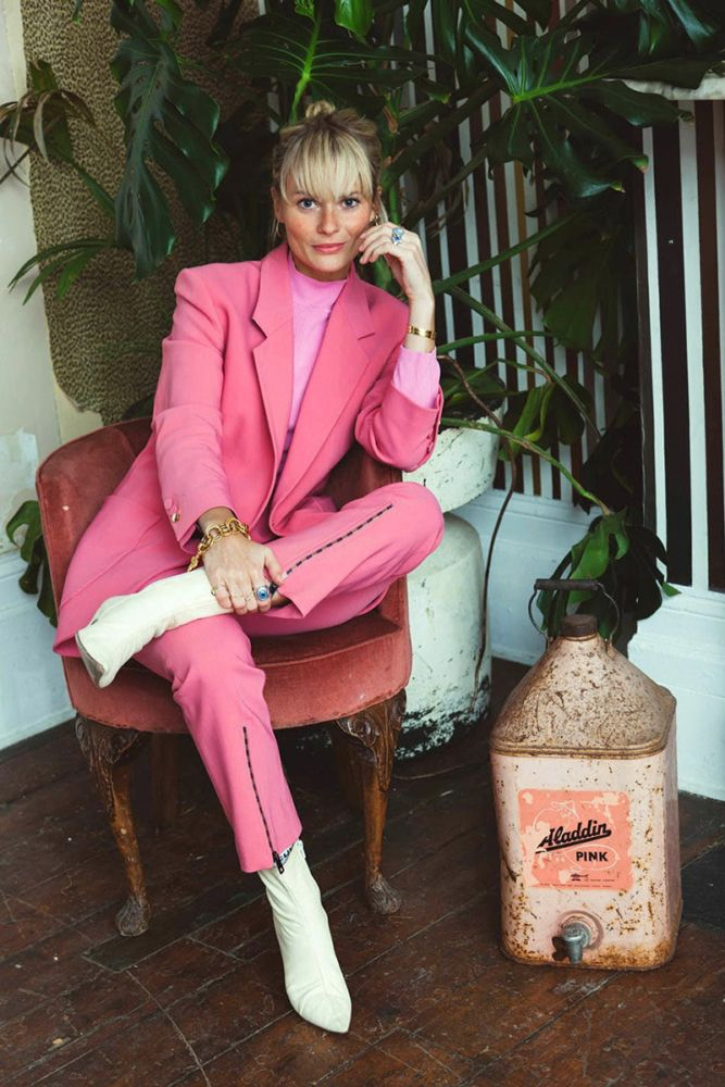 Why I Love a Pink Suit - Man Repeller