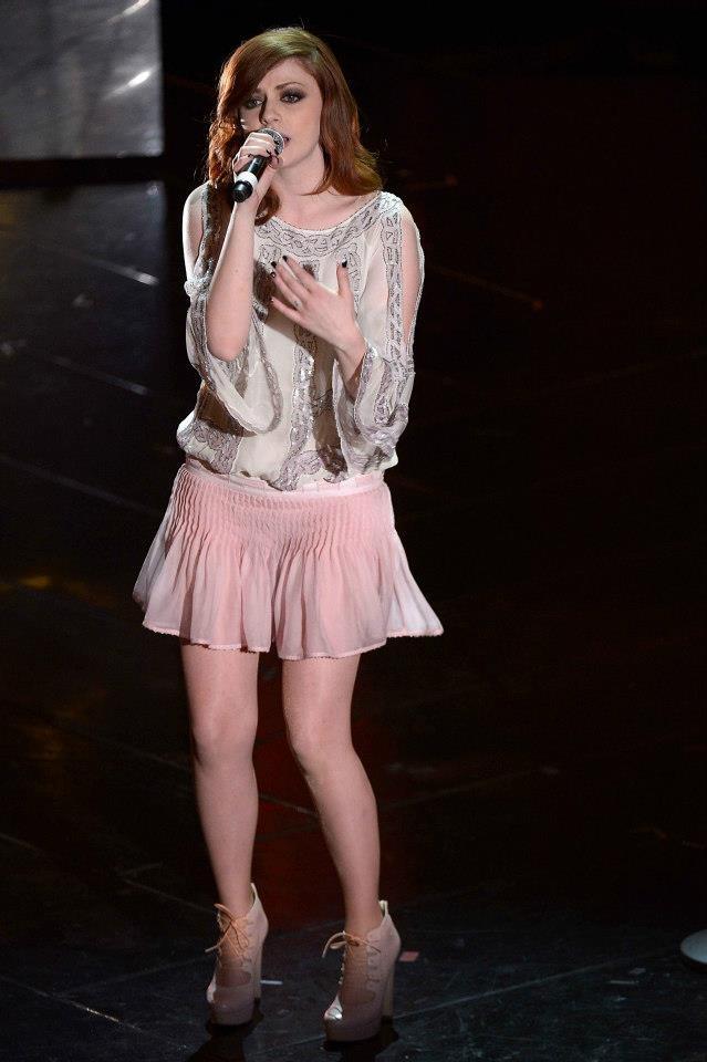 Annalisa Scarrone in Blumarine Spring-Summer 2013.