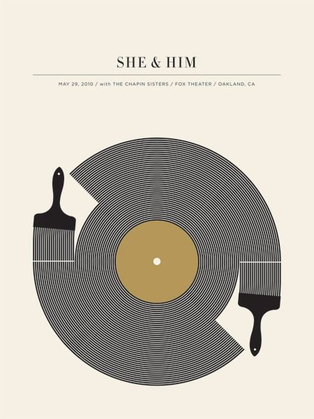 Small stakes(Jason Munn)  She and Him: Designed by Jason Munn for The Small Stakes