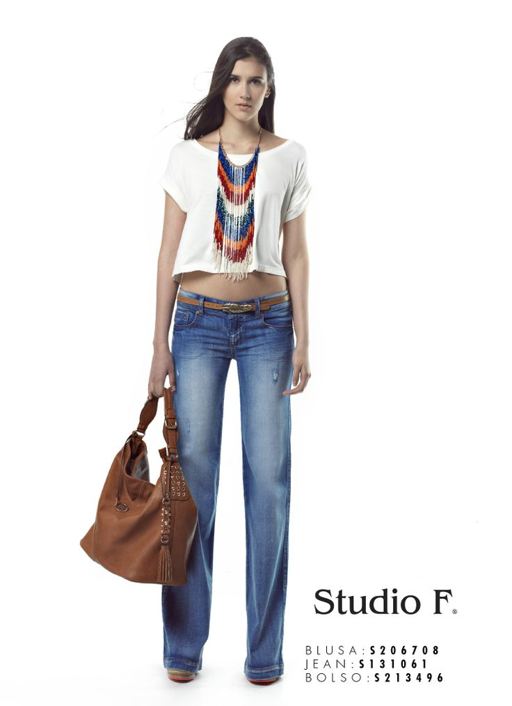 BLUSA S206708 JEANS S131061 BOLSO S213496